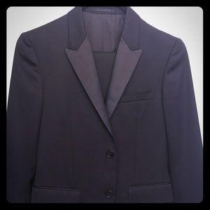 Theory Wool Tuxedo Blazer and Pants